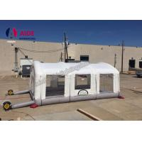 Durable Inflatable Paint Booth For Car , Custom Pvc Inflatable Auto Paint Booth Manufactures