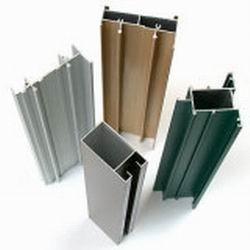 T6 Anodize Aluminum Door Extrusions For sliding doors , GB/75237-2004 Manufactures