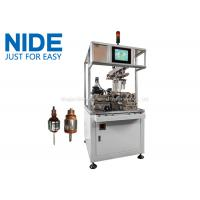 Two working station high speed balancing machine Weight Correction Machine Manufactures
