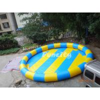 Colorful 0.6 Mm Pvc Tarpaulin Inflatable Water Pools Water Swimming Pools Manufactures