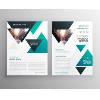 Customized Corporate Business Brochure , Printable Business Brochure Templates Manufactures