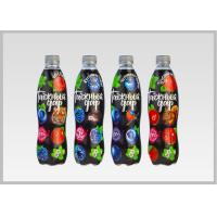 China Printed Heat Shrink Bottle Sleeves , Personalized Labels For Water Bottles PVC Shrink Films on sale