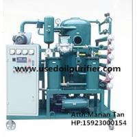 ZJA Double Stage Cable Oil Cleaning Equipment,Transformer Oil Filtration Machine Manufactures