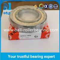 Chrome Steel Angular Contact Ball Bearing , Four Point Ball Bearing QJ211 MPA Manufactures