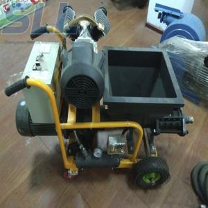 SLW-150 Automatic Cement Mortar Spraying Machine 180m2/h Cement Spray Plaster Machine Manufactures