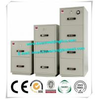 White Office Metal Industrial Safety Cabinets 3 Draw Filing Cabinet Manufactures