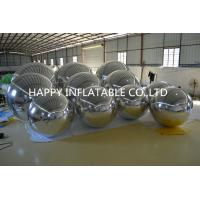 Mirror Cloth Inflatable Advertising Balloon Fashion Big Double Round Ball Manufactures