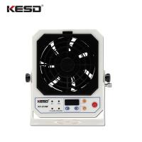 Indoor High Frequency AC Bench Top Ionizer , Hot Ionizing Air Blower Fan Manufactures