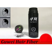 OEM 15 Colors Hair Enhancement Fibers , Hair Thinning Concealer Manufactures