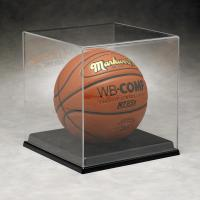 Basketball Acrylic Display Stand Case For Sport Equipment Advertising Manufactures