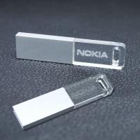 Buy cheap Encrypted Secure Crystal USB Flash Drive Necklace Jewelry Custom from wholesalers