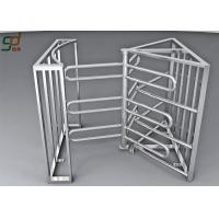 Entrance Automation Full Height Turnstile Security Systems Single / Bi - Directional Manufactures