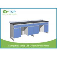 Customized Hospital Lab Furniture With Epoxy Resin Worktop Alkali - Resistant Manufactures