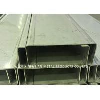 China Customized Stainless Steel C Channel / Stainless Steel Channel For Park Project on sale