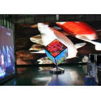 Indoor 3D Led Cube 16X16X16 , Led Cube Display High Brightness P4 Manufactures
