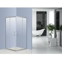 Bathroom 6 mm Glass Corner Bath Shower Enclosure 800 x 800 0.094 Volume Manufactures