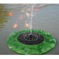 Solar Water Panel Power Fountain Pump Kit Pool Garden Pond Watering Submersible Floating Lily Smart Solar Fountain Pump Manufactures