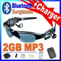 Buy cheap Bluetooth Headset Sunglasses Mp3 Player from wholesalers