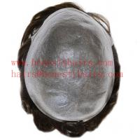 100% Remy human hair Toupee for men, Brazilian hair, length 4-32 Manufactures
