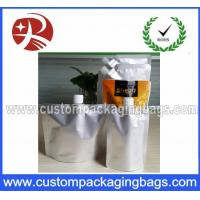China Custom Made Stand Up Bags / Aluminium Foil Spout Pouches For Cream on sale