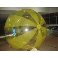 Yellow Large PVC / TPU Inflatable Walking Ball Exciting Sport Product Manufactures