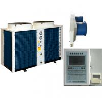 China 80 Deg.c Water Air Source High Temperature Heat Pump For Industry Heating & Drying on sale