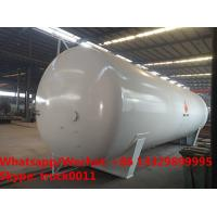 China new brand Factory sale customized 50cubic meters ground bulk propane gas storage tank for sale, Best price Lpg gas tank on sale