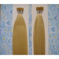 Beautiful Blonde Color Silky Straight I-tip Indian Human Hair Extension Manufactures