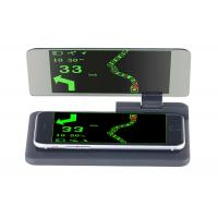 Smartphone 6 Inch Screen Hud Mobile Navigation Bracket , Hud Phone Holder PC + ABS Material Manufactures