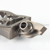 Quality CNC Billet 7075 T6 Aluminum Alloy Dirt Bike Pegs With Stainless Steel Teeth for sale