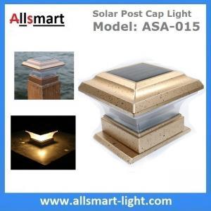 Titan Flat Top LED Post Cap Light for 4'' Post Sleeves Solar Post Cap Light Solar Rail Light Low Voltage Post Caps Manufactures