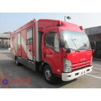 Max Speed 90KM/H Fire Pumper Truck , 4x2 Drive Type Gas Supply Firefighter Truck Manufactures