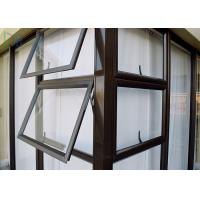 Multi Color Aluminium Awning Windows Series 50 Fixed Aluminium Top Hung Windows Manufactures