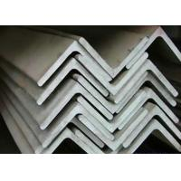 Quality Strong Corrosion Resistance Stainless Steel Angle Bar For Engineering Structure for sale