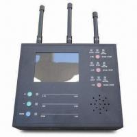 Wireless Spy Camera Detector with 1.2, 2.4 to 5.8GHz Frequency Band, Measures 190 x 140 x 40mm Manufactures