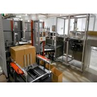 Auto Case Packer Machine For Bottled / Canned Beer With Carton Erector And Sealer Manufactures
