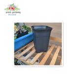 Outdoor Garden Plant Accessories , Square Plastic Flower pots