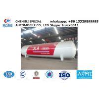 factory sale 120,000L 50ton lpg gas storage propane tank, hot sale bullet type bulk surface lpg gas storage tank Manufactures
