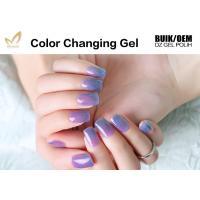Multi Colored Mood Changing Nail Polish Gel Heat Changing Nail Varnish 2 Minute Dry Manufactures