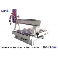 Desktop 4 Axis Cnc Milling Machine / Heavy Duty CNC Router With Syntec Control System Manufactures
