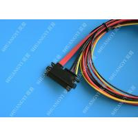 Quality Female 22-pin to Male 22-pin SATA Data & Power Combo Data Extension Cable for sale