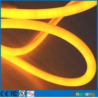 12V flexible neon led light IP67 360 degree round rope Christmas light yellow Manufactures