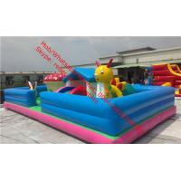 retardant advertisements Childrens Commercial Bouncy Castlesinflatable playground Manufactures