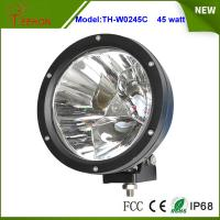 7 inch 45W Round LED Work Light in Spot Beam for Truck,Jeep,SUV, Offroad UTE 12V or 24V DC Manufactures