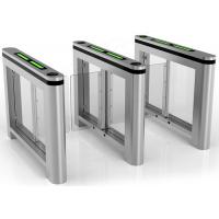 Bidirectional Slim Swing Arm Barrier Turnstile Controlled Access Gates For Football Manufactures