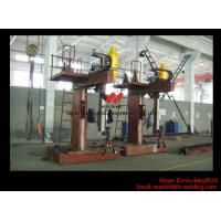 L Shape Column And Boom H Beam Welding Machine for H Beam Welding Line 15m Rail Manufactures