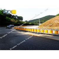 China Foam Roller Fence Safety Roller Barrier Q235 Hot Dip Galvanizing Metal Material on sale