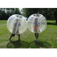 Inflatable Bubble Soccer Ball Fashionable Buper Ball sports entertainment football inflatable body zorb ball Manufactures