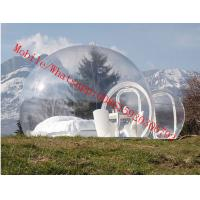 Quality clear inflatable lawn tent , inflatable clear tent , igloo inflatable clear tent for sale