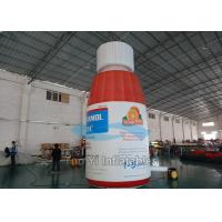 Public Backyard Inflatable Bottles Advertising Air Balloons UL / CE Approved Manufactures